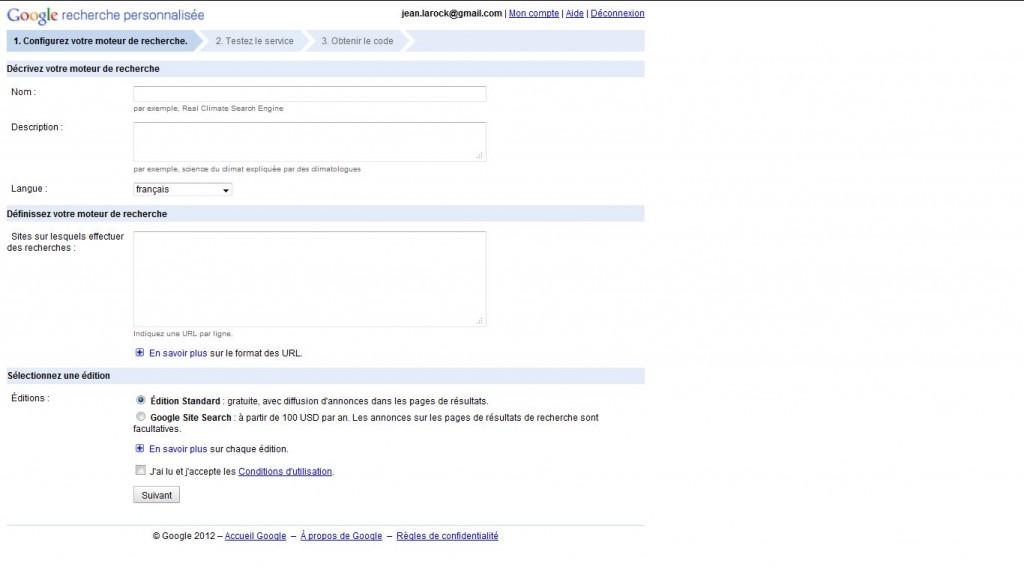 Google site search : Indexation et recherche full texte avec Google